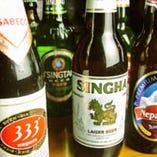 ★アジアの様々なビールあります★