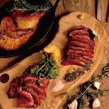 肉の旨味を凝縮させた熟成肉