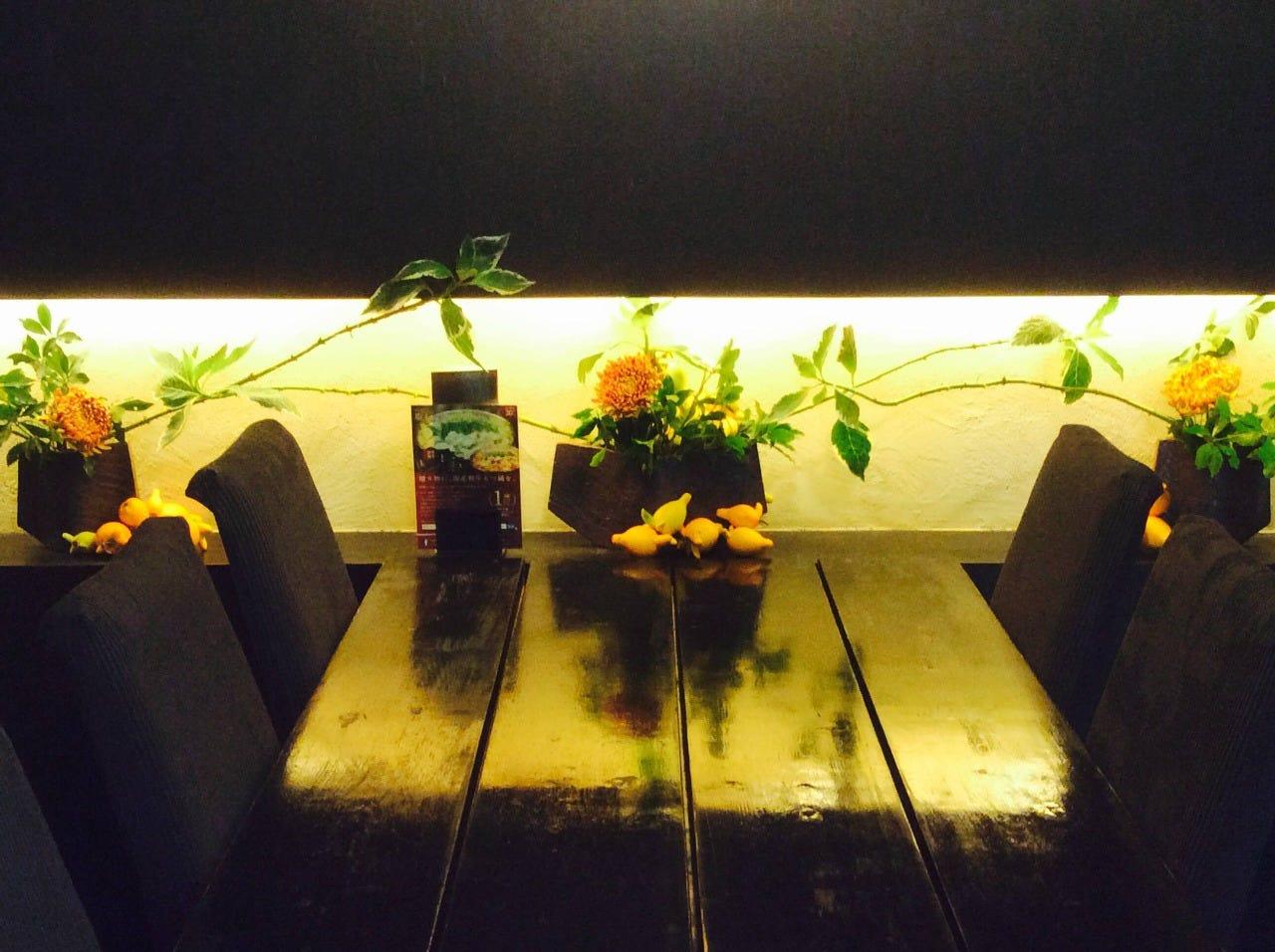 テーブル席・完全個室(壁・扉あり)・4名様~10名様