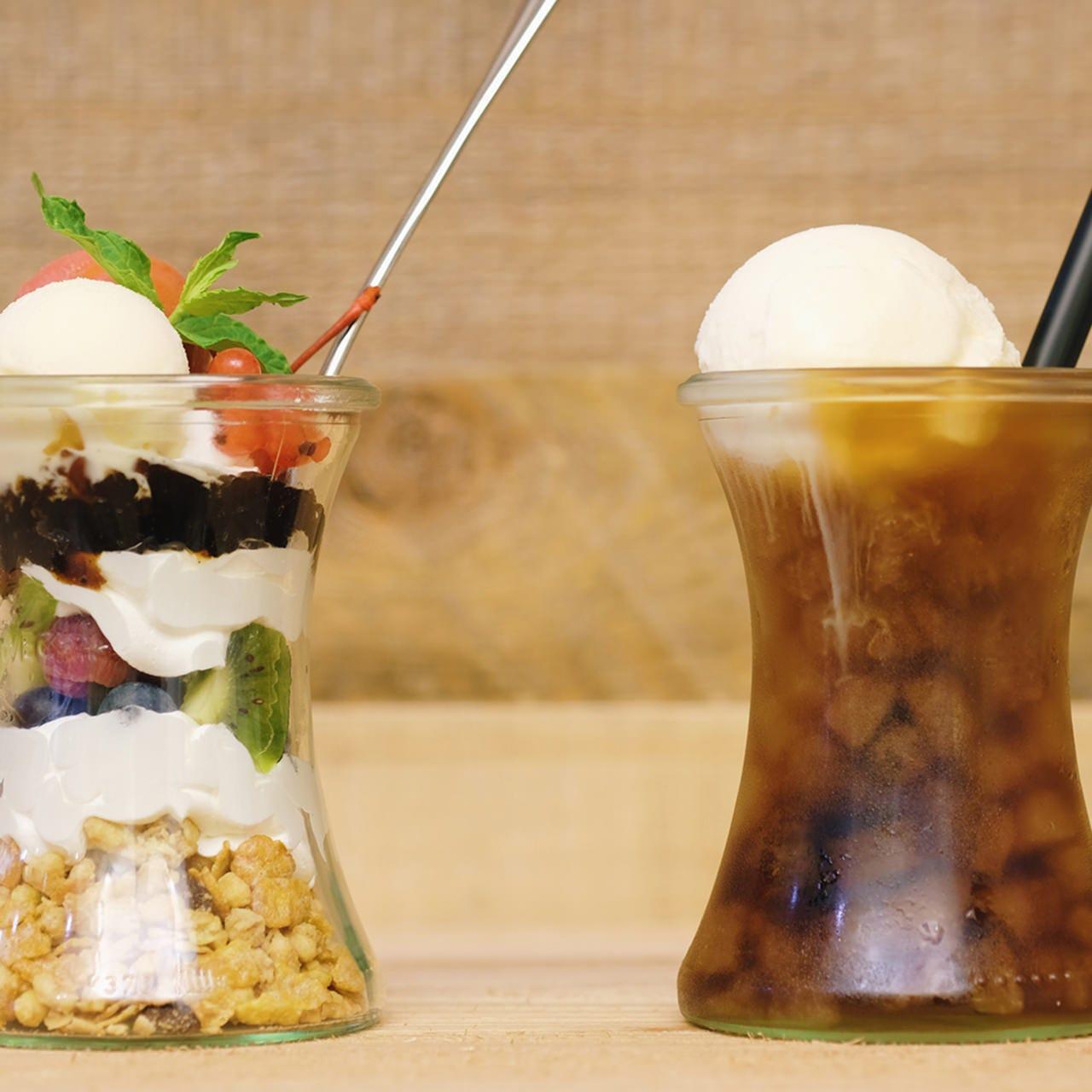 ジェラートをパフェやカフェスタイルで味わう新感覚メニュー