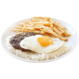 プレーン モコ #2(ハンバーグ ステーク 150g)