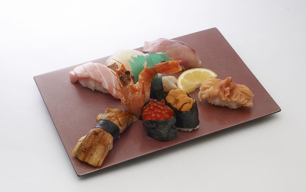長年愛されている双葉寿司の握り