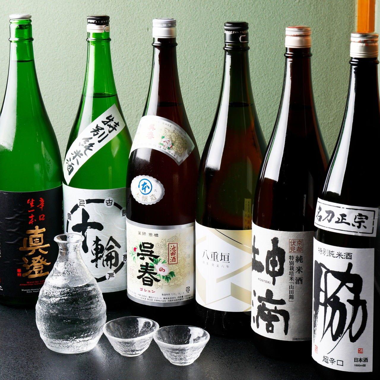 姫路の地酒をはじめアルコール充実