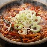 人気の韓国一品料理も全て手作り!お酒との相性も抜群です!