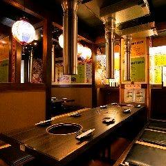 七輪炭火焼肉食べ放題 カルビちゃん新宿店