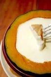 【名物】かぼちゃのフォンデュ♪