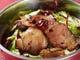 キャベツと湖南薫製肉の辛口鍋