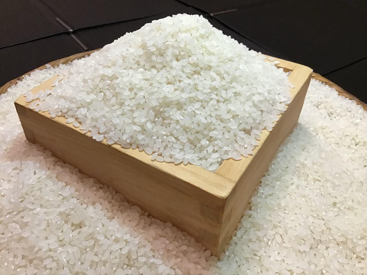 シャリは皇室献上米の「小田北条米」