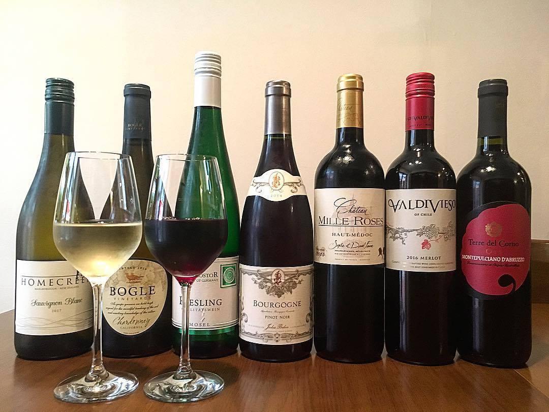 各国の厳選ワインをご用意!