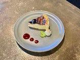 自家製バスクチーズケーキ