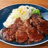 《選べるメイン》イベリコ豚のBBQ ステーキ