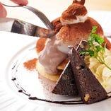 ブッラータパンケーキ[ティラミス] Burrata Pancake[Tiramis]