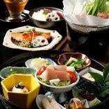 ≪花篭膳 3,500円≫四季の食材が織りなす美味なるハーモニー