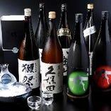 【日本酒】 1500円/月で、毎回ディナー来店時に冷酒又は熱燗を1合無料!