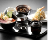 海鮮丼と天婦羅