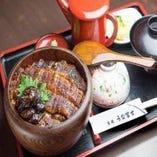 25年の歴史が詰まった伝統のうな富士のタレと鰻をご堪能ください