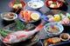 旬の会席料理 日本海朝どれ魚と季節の山菜、などの旬な会席料理