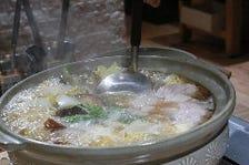 オリジナル「鮪を味わうねぎま鍋」