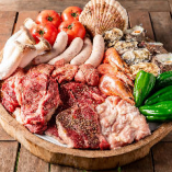 上質なお肉やシーフード、新鮮野菜でBBQをエンジョイ♪『王道プラン』