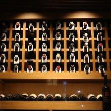 USAワイン中心としたワインが120種類