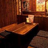 【半個室】はなれ:テーブル席(最大4名様)