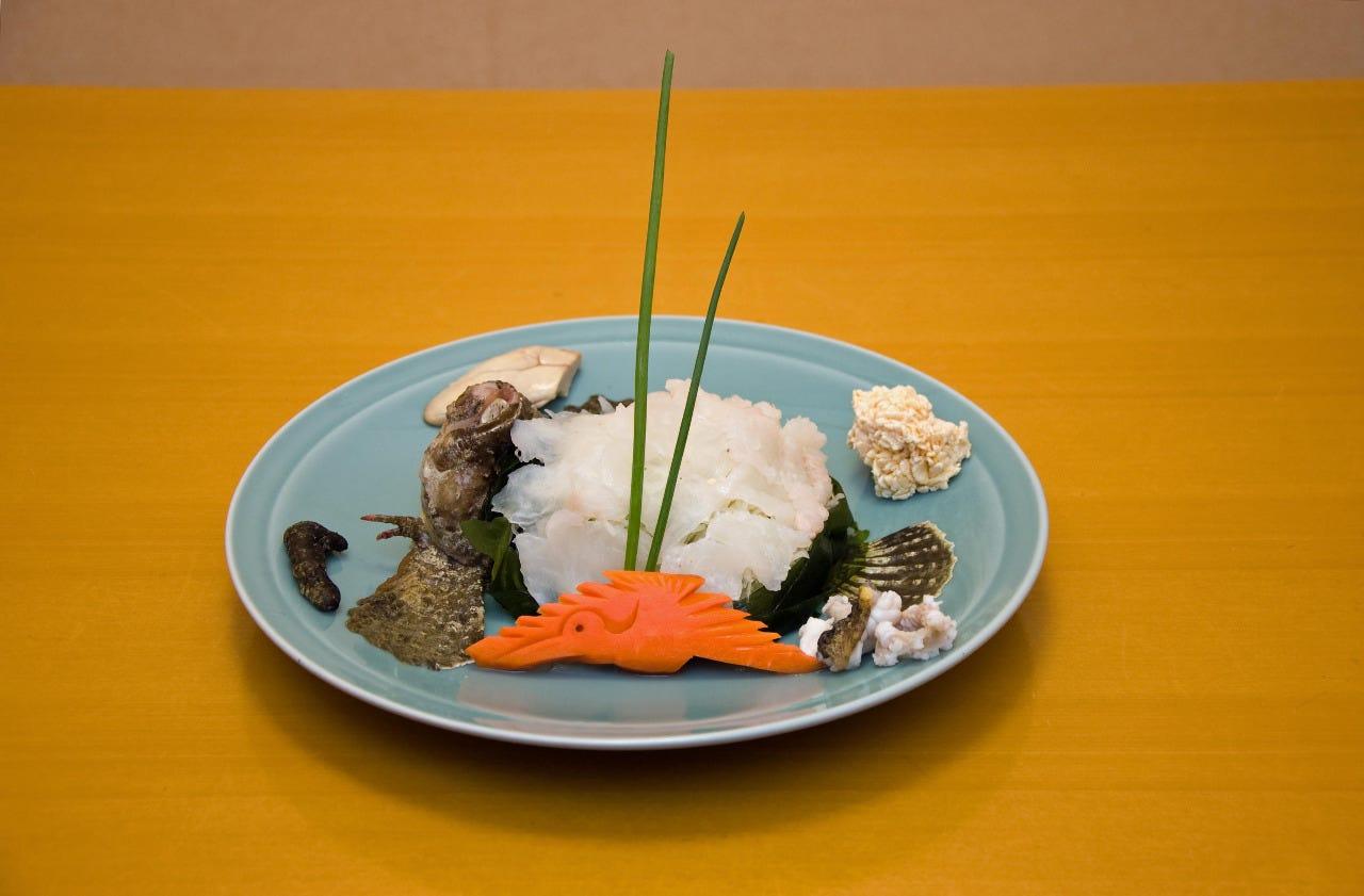 【個室確約】虎魚(おこぜ)姿造りや唐揚げ、河豚塩焼きなど 全8品オコゼコース大切な方とのお食事に
