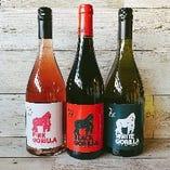 『ゴリララベルのハウスワイン』東山動物園近くの当店ならでは!
