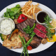 牛肉(リブロース、ハラミ、イチボ、ランプ)をメインにグリル。