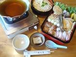 京風うどんすき権太呂鍋