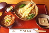 天ぷらそば御膳