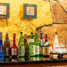 石川県の地酒を中心に10種類以上