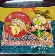 本会席 雪|色彩豊かな加賀野菜と鮮魚で季節を慈しむ会席
