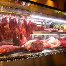 食通を唸らせる特注セラーの熟成肉