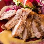 【逸品】 恋する豚のローストポークはあっさりと優しい味わい
