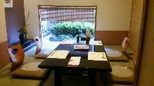 畳座敷の個室