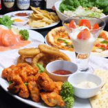 お手軽なコースからしっかりとお食事を楽しむコースまでご用意!
