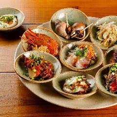 【クラブミシュラン限定】1ドリンク付!旬の魚介類や野菜のオススメ前菜と人気の点心などお料理コース