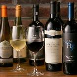 お肉と相性抜群の赤ワインを中心に13種類をご用意しています