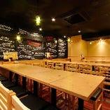 【3F】宴会専用テーブル席(20名様~最大30名様)