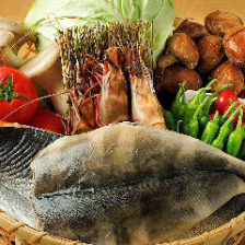 [築地鮮魚]毎朝仕入れたての魚介類