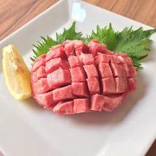 種類豊富なお肉は上質で新鮮