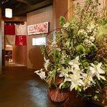 古都奈良の趣を随所に感じていただけるインテリア