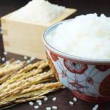 寿司に使用するお米は『岡山県産 あけぼの』を使用しております