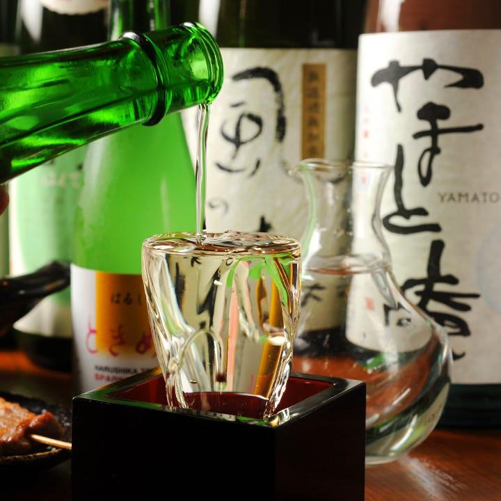 日本清酒発祥の地奈良。そんな歴史ある奈良の地酒を豊富にご用意