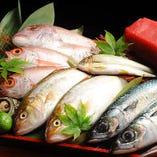 海無し県の奈良でも新鮮な美味しい魚をご提供!