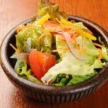 地野菜の彩りサラダ