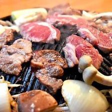 本場の味を再現したラム肉を堪能