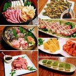 忘新年会5000円のお料理 選べる鍋付で10品