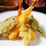 旬な鮮魚はもちろん野菜もお愉しみください!