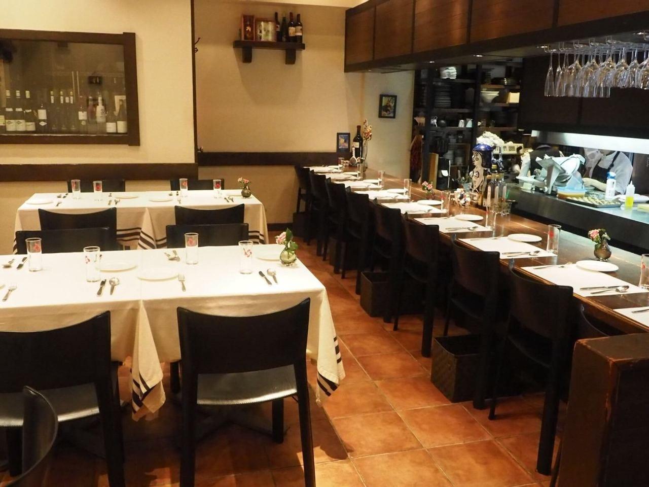 スペイン・バスク料理が自慢のお店
